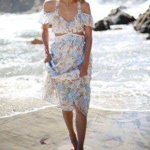 FL&L Cadence sweet as pie maxi dress